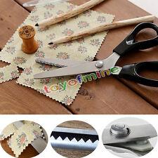 Professional Dressmaking Pinking Shears Fabric Crafts Zig Zag Cut Scissors