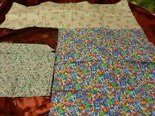 pour patchwork   lot fleuri ,petites fleurs