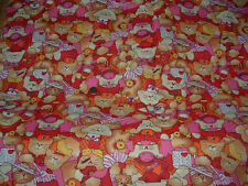 "Cute Fabric Medical Cats Print 60"" Wide Bty Unique Craft Quilting Home Decor"