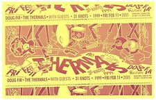 THE THERMALS 2005 Gig POSTER Portland Oregon Concert