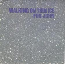 YOKO ONO JOHN LENNON  Walking On Thin Ice  45 with PicSleeve  THE BEATLES