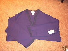 NWT WORTHINGTON Size 22W Plus LS Blouse Shirt NAVY NEW