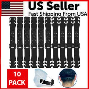 10PCS Face Mask Extender Ear Hook Ear Strap Extension Mask Clip Saver Adjustable