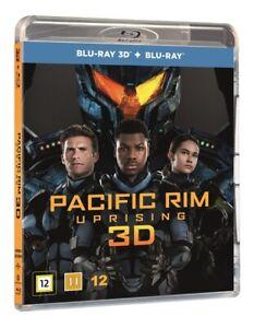 Pacific Rim Uprising 3D + 2D Blu Ray