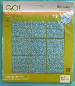 """AccuQuilt GO! Fabric Cutting Die Square 2 1/2""""Multiples 55059 AccuQuilt"""