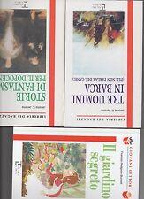 offerta speciale 3 libri serie libreria dei ragazzi la spiga -9-12 anni- 7 euro