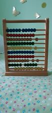 💖💖vintage Wooden toy Abacus 💖💖