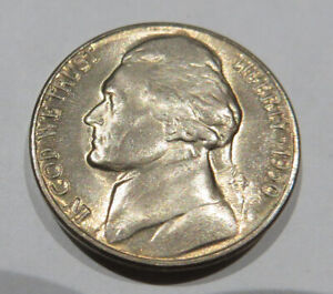 1950 D Jefferson Nickel BU Uncirculated Five Cent Coin #5