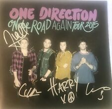 One Direction Signed Autographed Tour Book Program 2015 This Is A RELIST