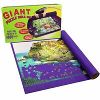 Giant Puzzle Roll-Up Mat Jigsaw Jumbo Large Fun Game Easy Storage 3000 Pieces