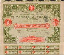 TOP DECO => Tramways Électriques de VANVES à PARIS (Ch. CRABBE) (R)