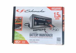 Schumacher SC1355 1.5 Amp 6/12 Volt Fully Automatic Battery Charger / Maintainer
