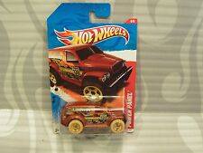 2011 HOT WHEELS ''THRILL RACERS'' #186 = POWER WAGON = COPPER us