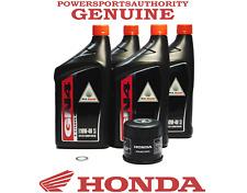 2004-2005 Honda Valkyrie Rune 1800 NRX1800 NRX OEM Complete Oil Change Kit H09