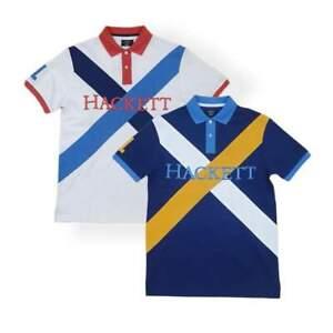 New Hackett London HM562689 Crossbody Polo Shirt £95.00