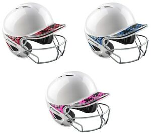 Champro Sports YOUTH Two-Tone Gem Gloss Batting Helmet w/ Mask - NOCSAE Approved