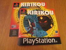 Kirikou / Notice PS1 / SANS JEU