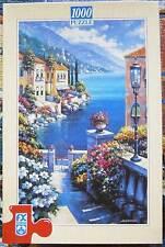1000 Teile Puzzle, FX Schmid, Sunlit Passage, Gemälde, Meerblick, Mediterran