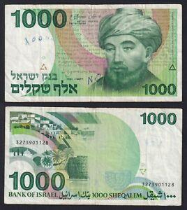 Israele 1000 sheqalim 1983 BB/VF  B-05