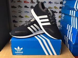 "Men's Adidas""LOS ANGELES""Trainers Size UK 9.5-EU 44 Black-White USED ONCE"