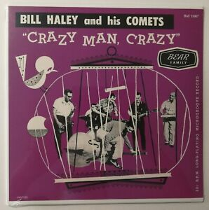 "Bill Haley And His Comets ‎– Crazy Man, Crazy 25Cm Rock N' Roll 10"" Lp MINT"