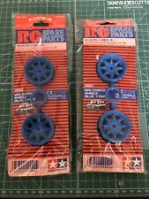 Tamiya Mini Copper 49042 Blue Wheel Set Super Rare Original Items Vintage Hopup