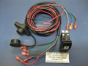 WARN 99897 ATV Lighted Rocker Switch Dash Control Conversion Upgrade Winch Kit