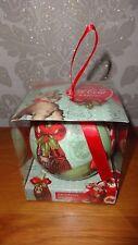 GRANDE A MANO COCA COLA Pallina per albero di Natale Ornamento Nuovo con Scatola!