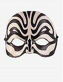 Venezianische Masken Kombat Ledermaske - In Venedig Handgemacht!