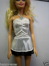 BARBIE DOLL CLOTHES/SHOES  *MATTEL SHIMMERY TOP *   *NEW*  #363