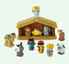 FISHER PRICE LITTLE PEOPLE NATIVITY SET A LITTLE PEOPLE CHRISTMAS BNIB