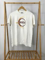 VTG Cowboy Mouth Signed By Band Members Short Sleeve T-Shirt Size L
