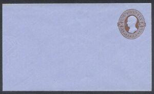 U.S. #U339 (1113) Mint Entire - 30c Brown on Blue ($60)