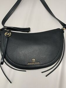 Michael Kors Camden Small Messenger Leather Shoulder Bag 30H9GCDM1L NWT