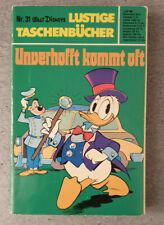 Erstausgabe/Erstauflage - LTB Nr. 31 - 3,80 DM / 1974 - Lustiges Taschenbuch