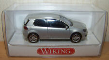 Wiking H0 0074 40 29  -  VW Golf VI in Silber - 1:87