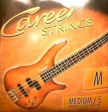 Career Strings Bass-cuerdas 5-string Medium 045-130