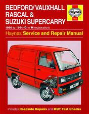 3015 Haynes Bedford/Vauxhall Rascal & Suzuki Supercarry (1986 - Oct 1994) C to M