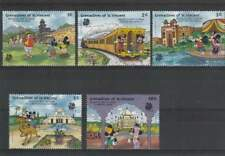 Serie Disney postfris MNH St. Vincent: Mickey's Visit to India (dis147)