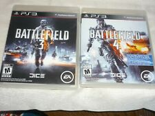 BATTLEFIELD 3 & 4 (SONY PLAYSTATION 3) BOTH GAMES