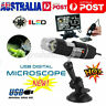 1600X 8 LED Digital USB Handheld Microscope Endoscope Magnifier Camera AU