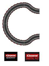Carrera GO / Digital 143 Ausbauset Kurve K3/45 K2/45 NEU 61617 61645 alle Radien