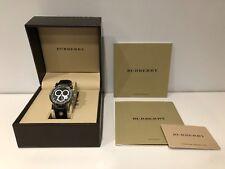 Orologio Watch Montre BURBERRY Quarzo Steel 100M 40 mm Cronografo BU7101