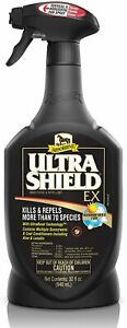 Absorbine UltraShield EX Fly Spray Insecticide and Repellent for Horses & Dog