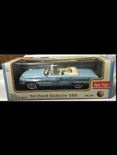 1964 Ford Galaxie 500 BLUE Convertible 1:18 SunStar 1421
