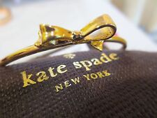 NEW AUTHENTIC KATE SPADE Gold Love Notes Golden Bangle Bracelet NWT