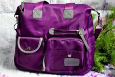 Women Travel Tote Messenger Top Handle Crossbody Bags Waterproof Handbag Nylon
