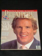 PREMIERE magazine 1989, Nick Nolte, Emily Lloyd, Sally Kirkland, Whoopi Goldberg
