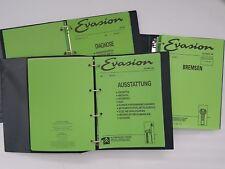 Citroën Evasion Werkstatthandbuch Reparaturanleitung Reparaturleitfaden 94-98