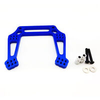 Traxxas Rustler 1:10 Alloy Front Shock Tower, Blue by Atomik - Replaces TRX 3639